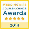 Wedding Wire Bride's Choice Award 2014
