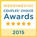 Wedding Wire Bride's Choice Award 2015