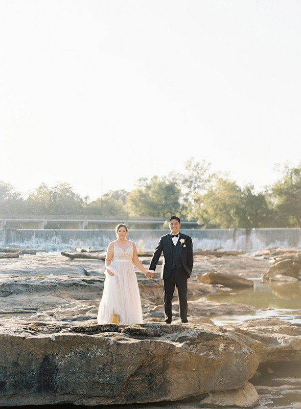Cool Toned Autumn Wedding
